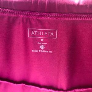 Athleta Skirts - Athleta Sport Skirt w/ Ruffles Purple Size M